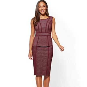 NY&CO Pull-on Pencil Skirt and Vest Suit